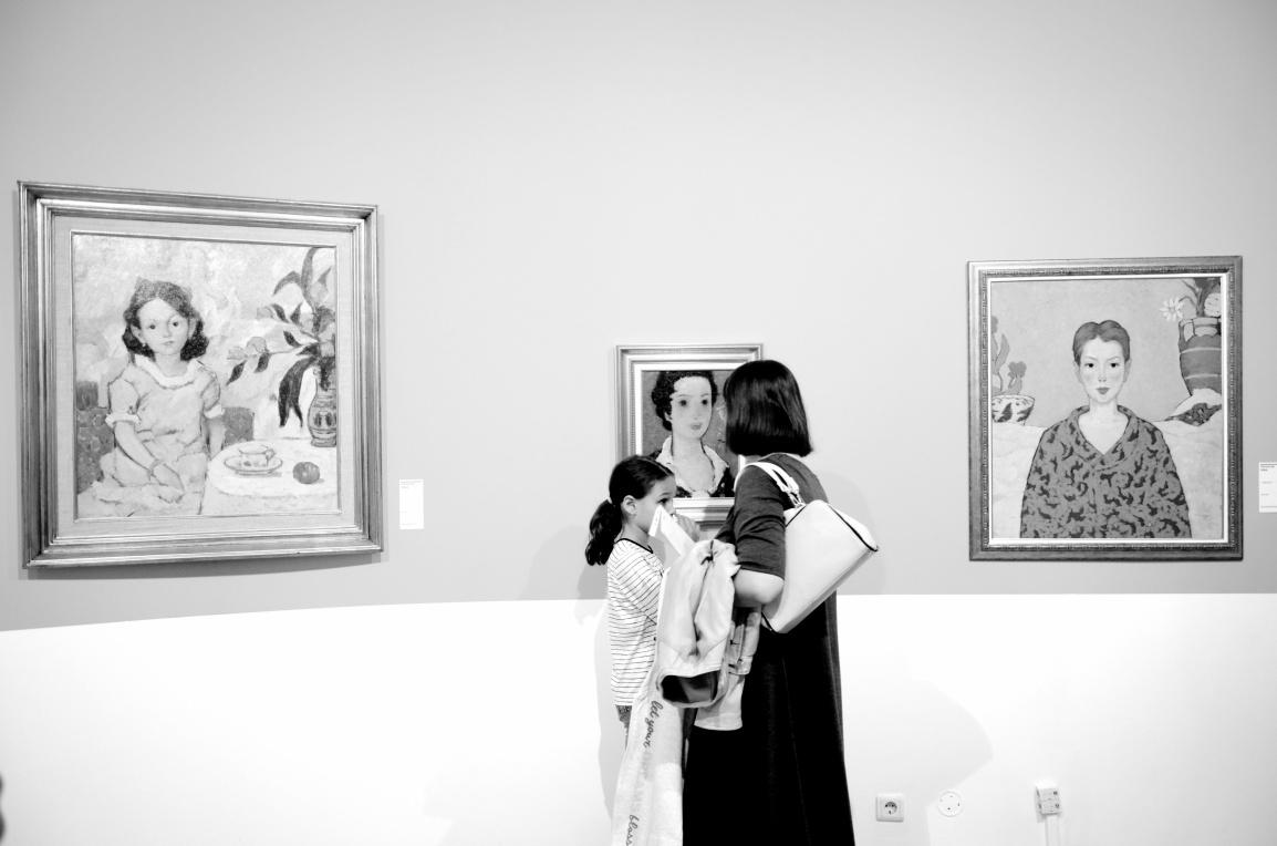 Tonitza's paintings.